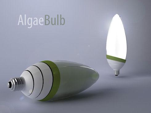 AlgaeBulb – светильник с «освежителем» воздуха