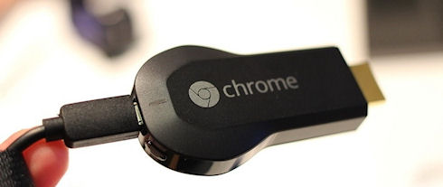 Chromecast наладит связь гаджетов с телевизором