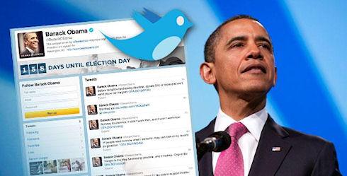 В Twitter'е Барак Обама популярнее Дмитрия Медведева