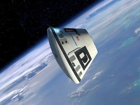 В США показан прототип новой космической капсулы на 7 человек