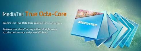 MediaTek выпустит 8-ядерный мобильный процессор