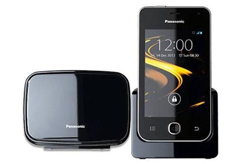 Android-телефон Panasonic KX-PRX120 для фиксированной связи