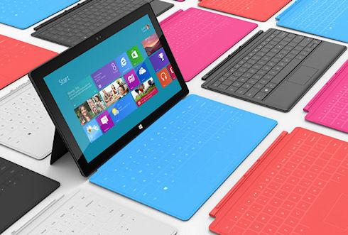 Планшеты Surface принесли Microsoft 853 млн долларов