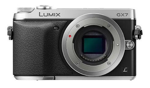 Камера Panasonic Lumix GX7 с поворотным дисплеем и видоискателем