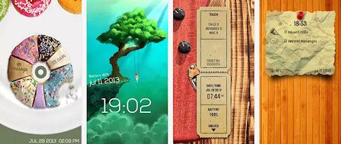 Интерактивный экран блокировки Sparky Lock Screen для Android