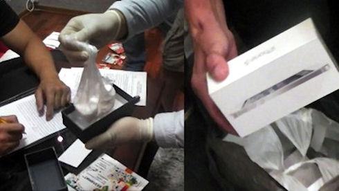 Мошенники продавали коробки солью под видом iPhone