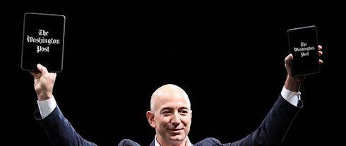 Глава Amazon Джефф Безос купил газету The Washington Post