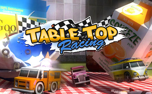 Table Top Racing – продвинутые гонки на мини-машинках