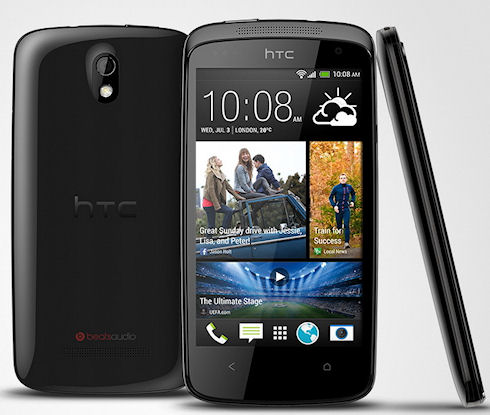 HTC объявляет о начале продаж смартфона Desire 500