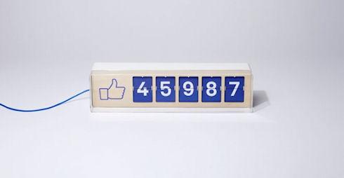 Smiirl Fliike – посчитает лайки в Facebook