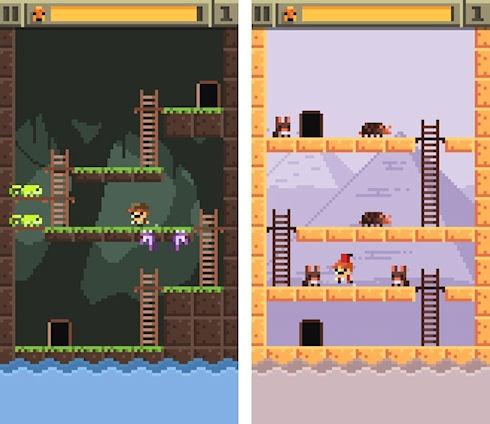 Relic Rush – пиксельная аркада из прошлого