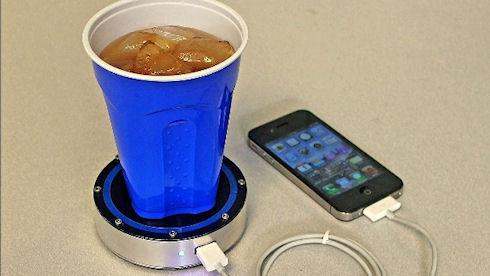 EpiphanyOnePuck – кофе и газировка зарядят любой гаджет