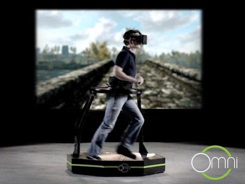 Беговая дорожка Virtuix Omni для компьютерных игр