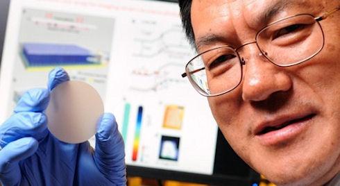Ученые создали сверхчувствительный датчик давления