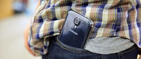 Человека со смартфоном Samsung Galaxy приняли за вооруженного стрелка