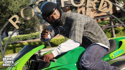 Rockstar опубликовала новое видео GTA V