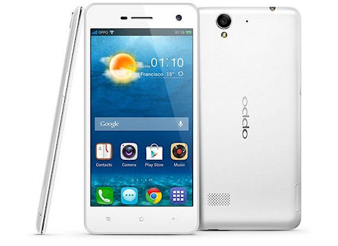 Oppo R819 – двухсимочный смартфон с 4-ядерным процессором