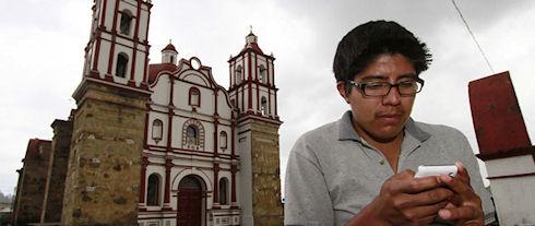 В мексиканском поселке организовали собственную сотовую сеть