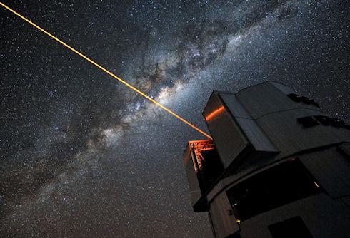 Ученые ищут лазерные лучи в космосе