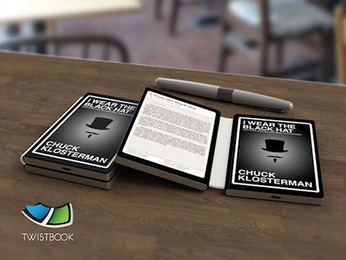 Электронные книги в виде «книги»