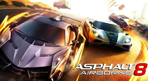 «Asphalt 8: На взлет»: трюки над дорогой
