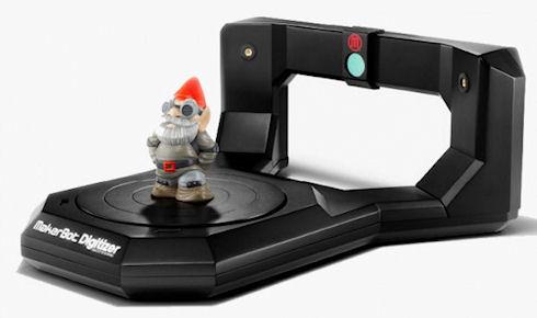 3D-сканер MakerBot Digitizer доступен для предзаказов