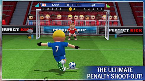 Perfect Kick – серия пенальти в режиме мультиплеера