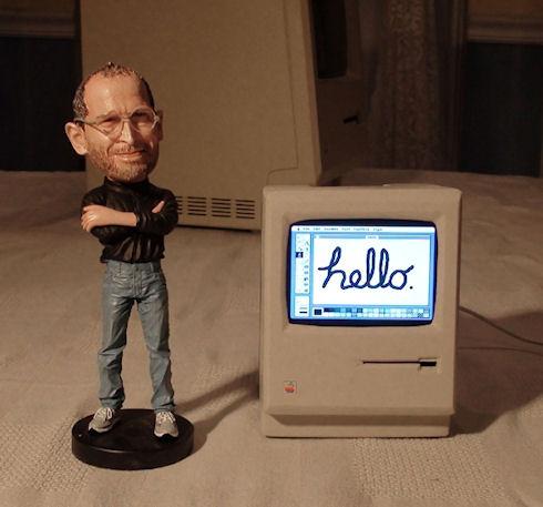 Миниатюрный компьютер Mac ручной сборки
