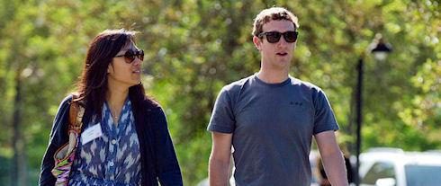Марк Цукерберг назван самым щедрым человеком 2013 года