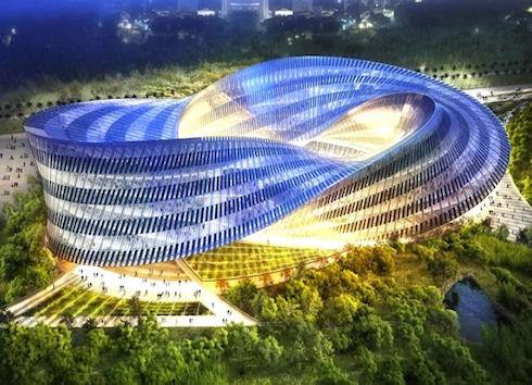 Swallows Nest – экологически чистый культурный центр на Тайване