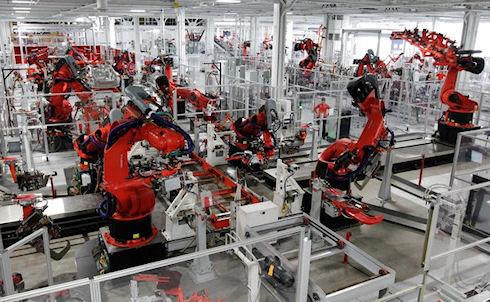 Google и Foxconn заменят людей роботами