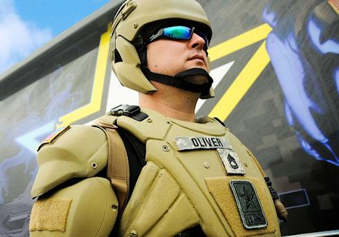 В США создали прототипы защитных экзокостюмов для военных