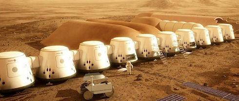 Россияне могут оказаться в числе первых колонистов на Марсе