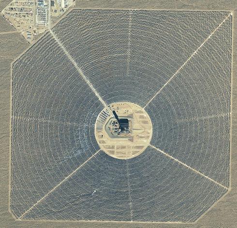 В США начала работу солнечная электростанция «Айванпа»