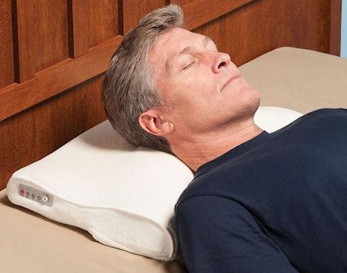 «Антихраповая» подушка Snore Activated Nudging Pillow
