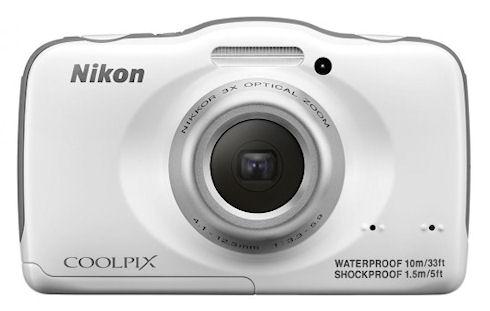 Защищенный компакт Nikon Coolpix S32