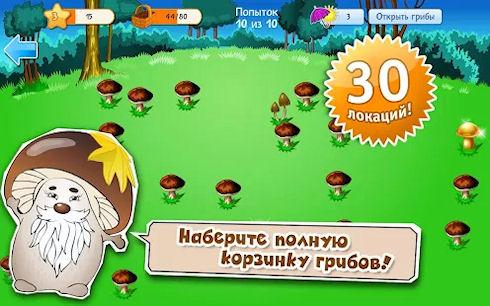 «Грибники» — грибной чемпионат открыт!