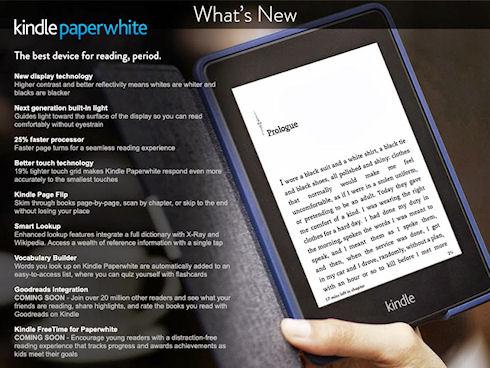 Kindle Paperwhite – мощная эргономичная читалка