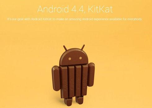 Новая версия ОС Android 4.4 получит название KitKat