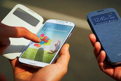 Samsung Galaxy S5 получит сканер отпечатков пальцев