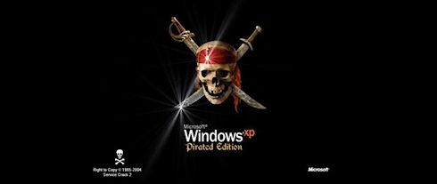 Microsoft терпит убытки в 200 млн долларов от нелегального ПО в госорганах Украины