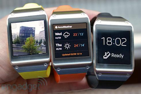 Galaxy Gear – «умные» часы от Samsung