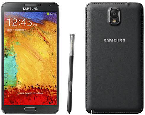 Galaxy Note 3 – новый мощный фаблет с поддержкой Galaxy Gear