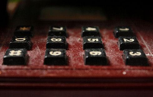Номеронабиратель телефона был отобран из 15 видов кнопочных сочетаний