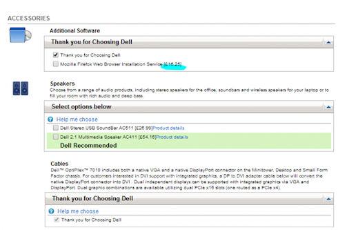 Dell устанавливала бесплатный браузер Firefox за 16 фунтов