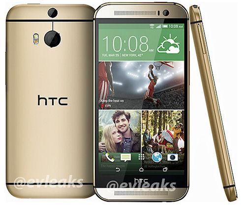 В Сети появились фотографии HTC One M8