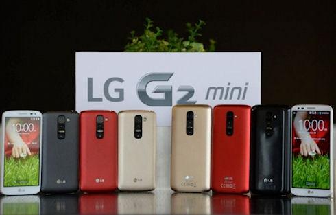 LG презентовала смартфон G2 Mini
