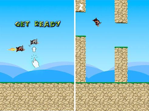 Rocket Caveman – достойный клон Flappy Bird