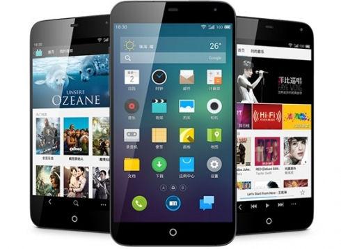 Смартфон Meizu MX3 с объемом встроенной памяти до 128 Гб