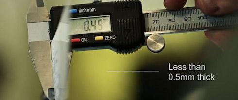 Компания CSR представила клавиатуру толщиной 0,5 мм